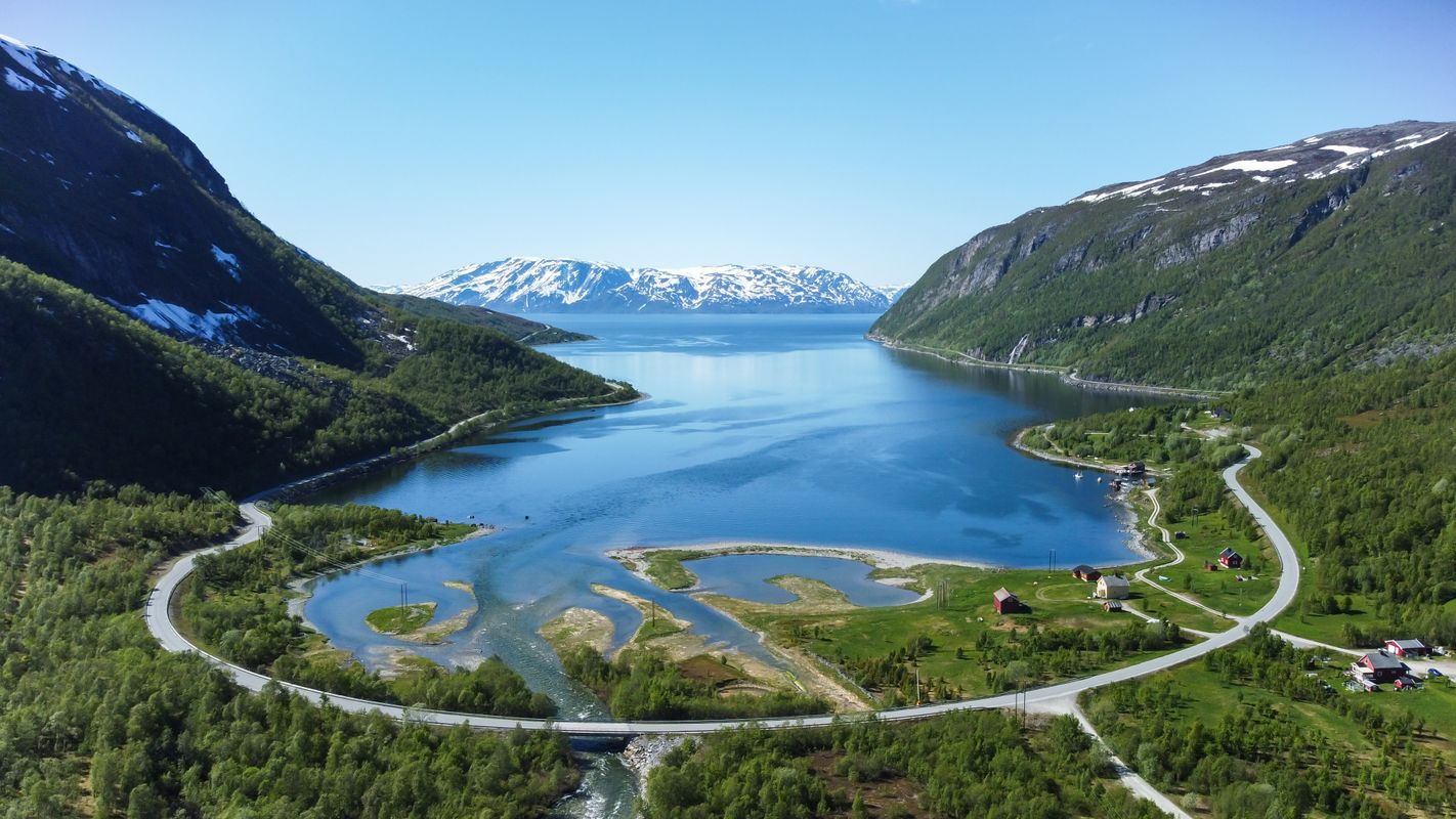 Skillefjord in Alta, Norway