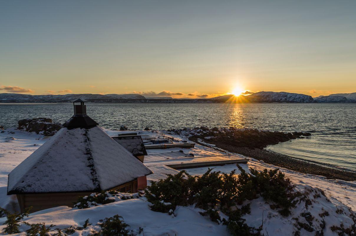 Sunset in Alta