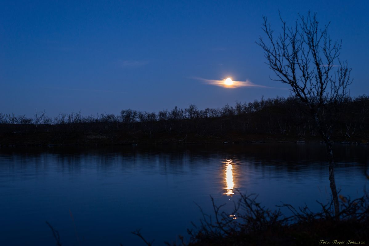 Moonshine with reflections