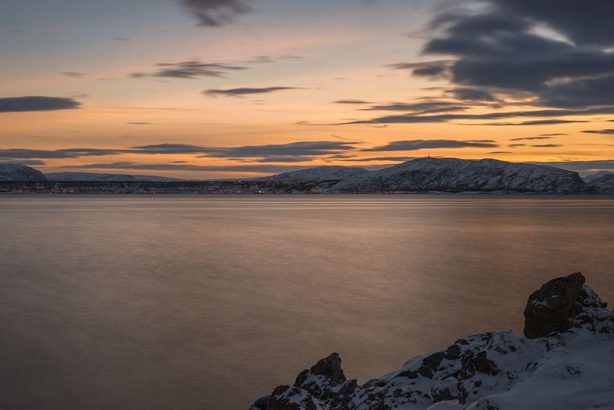 Just after sunset in Altafjord