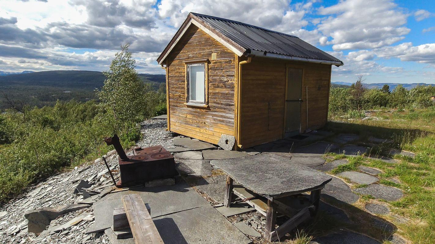 Old slates hut