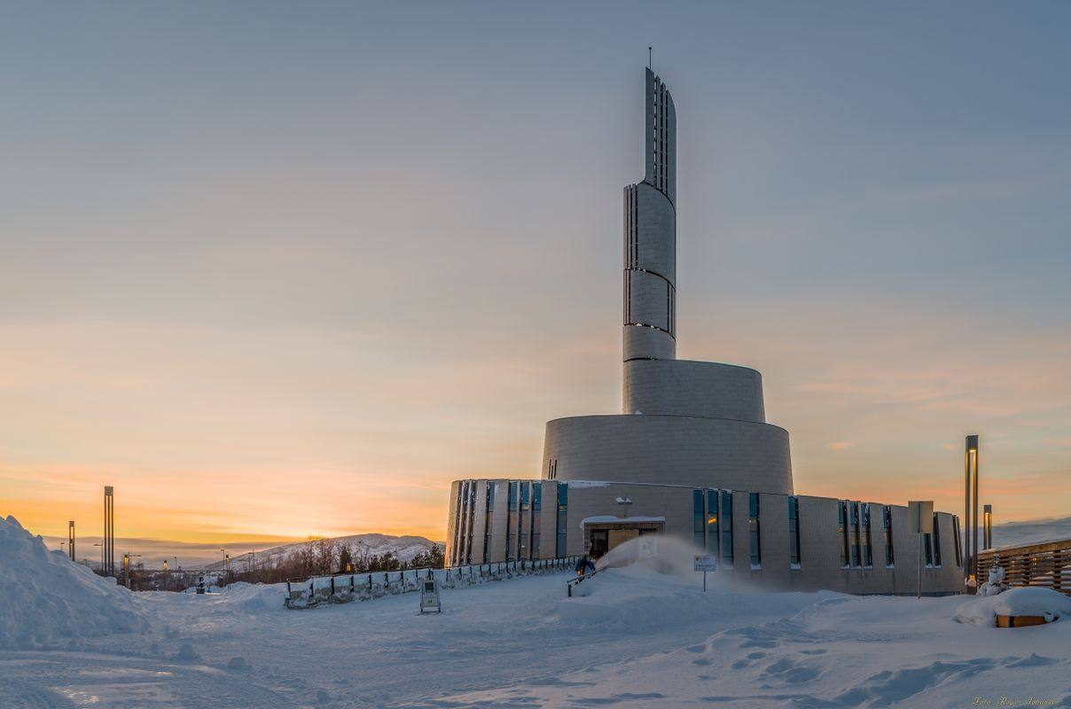 Nordlyskatedralen - The Northernlights cathedral