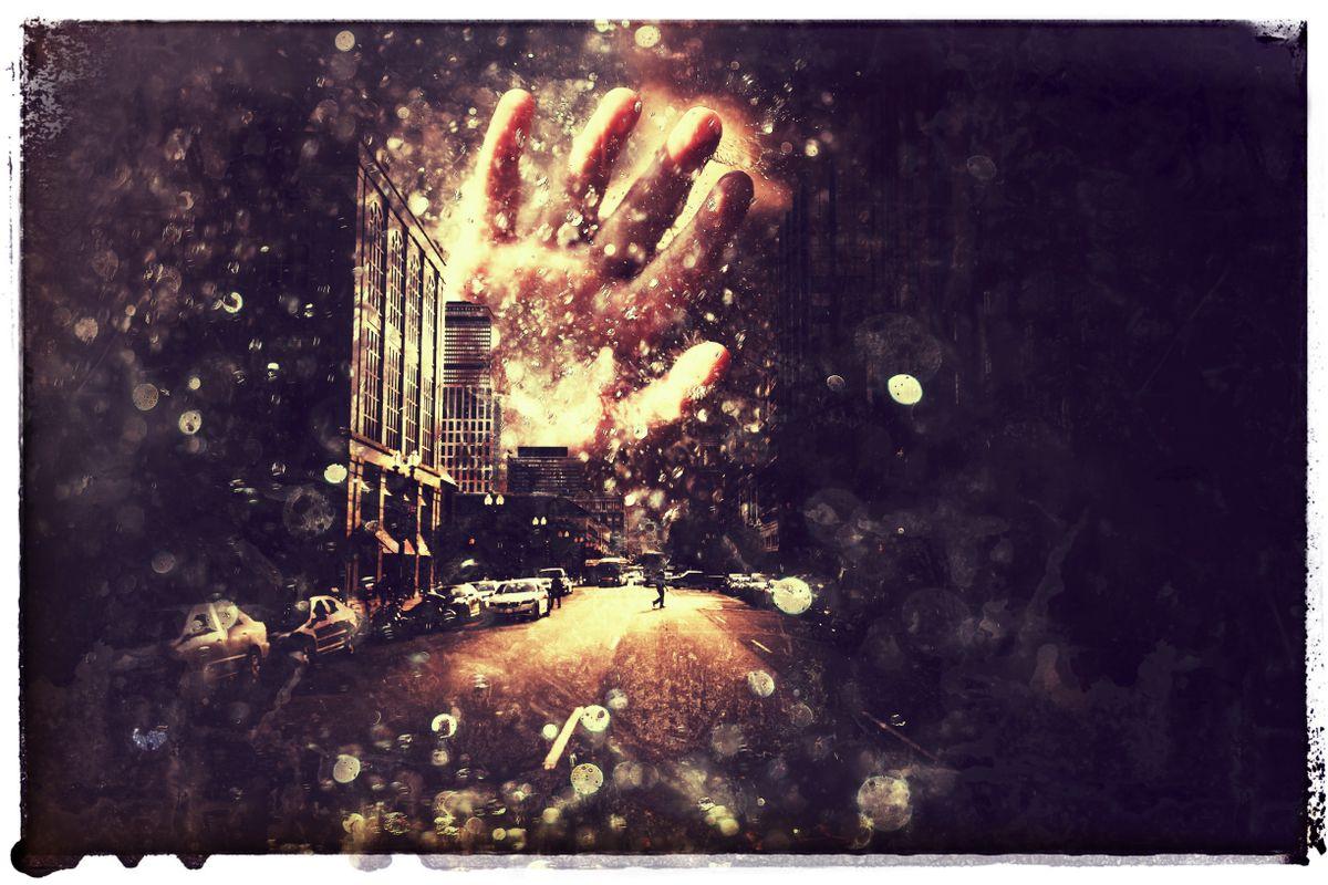 Hand_City_Rain