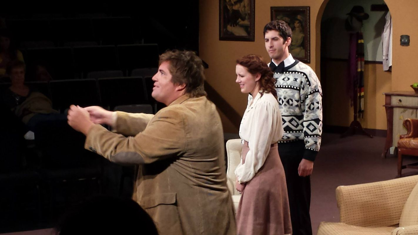 Josh in The Mousetrap