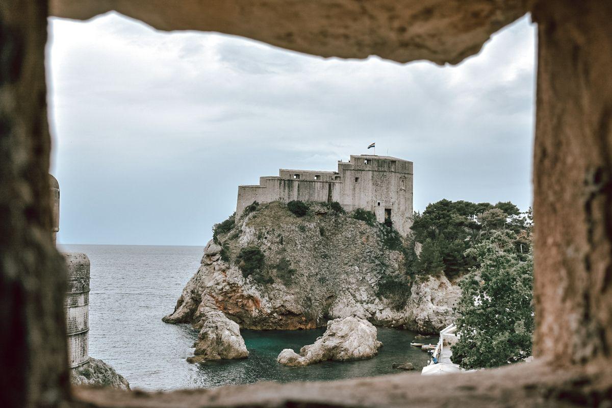 Sea coast of Croatia