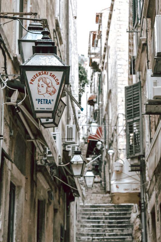 Streets of croatia