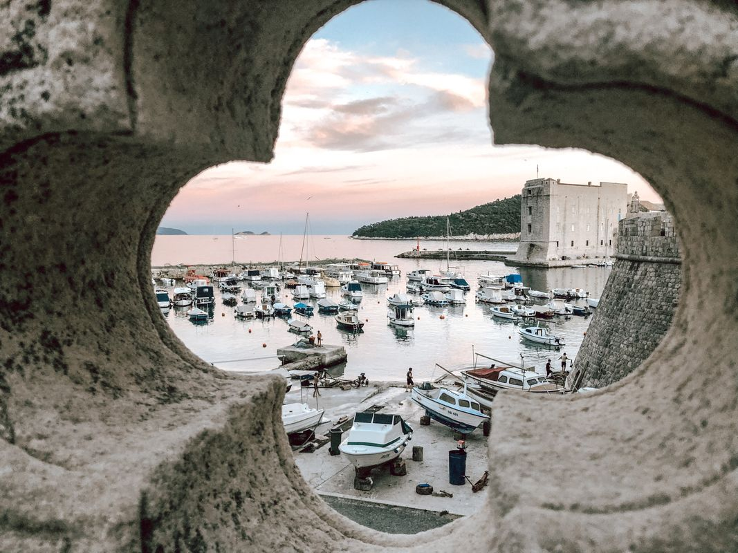 Boast harbour Croatia