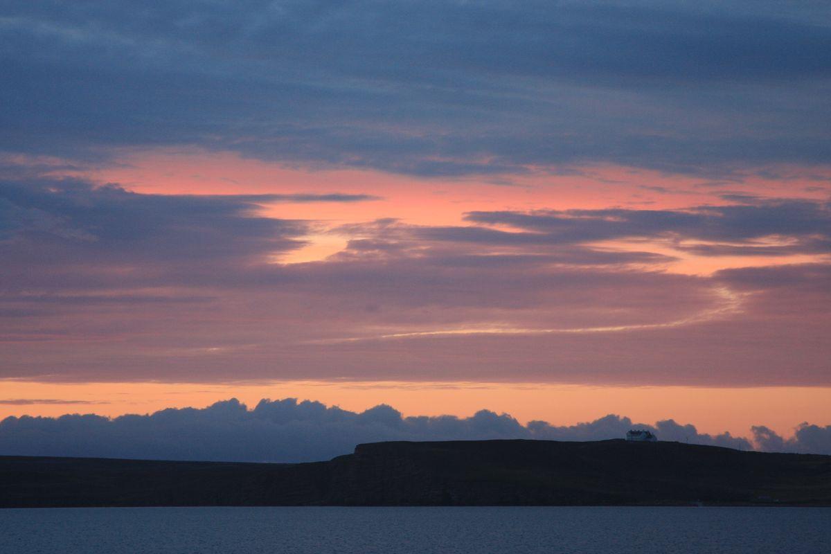 Sanset. Scotland
