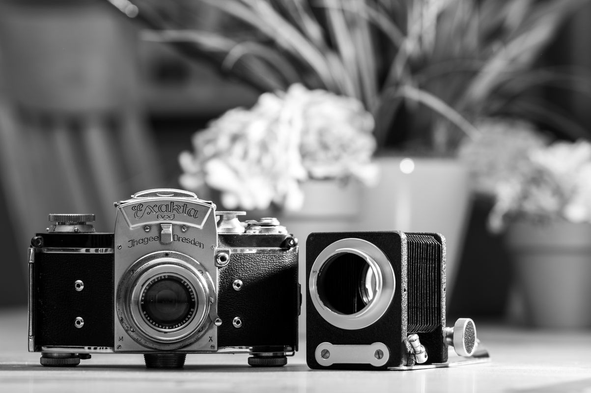 Black & White Film Camera