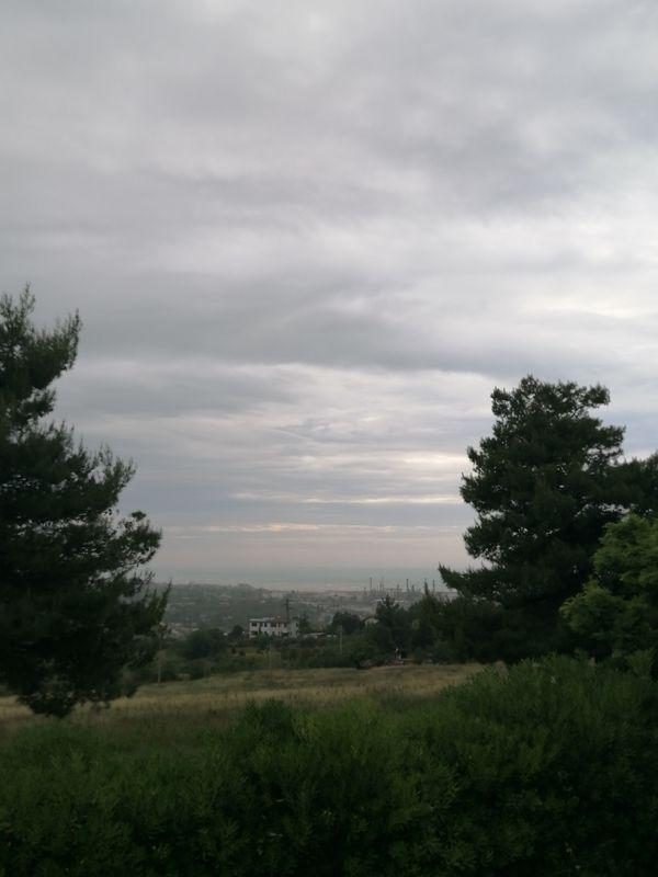 A cloudy landscape in the hills - Un paesaggio nuvoloso in collina