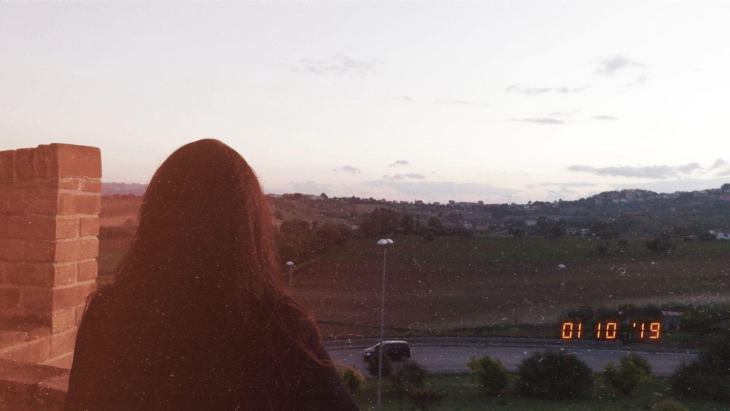 Just me in front of a fantastic panorama - Solo io di fronte ad un fantastico panorama