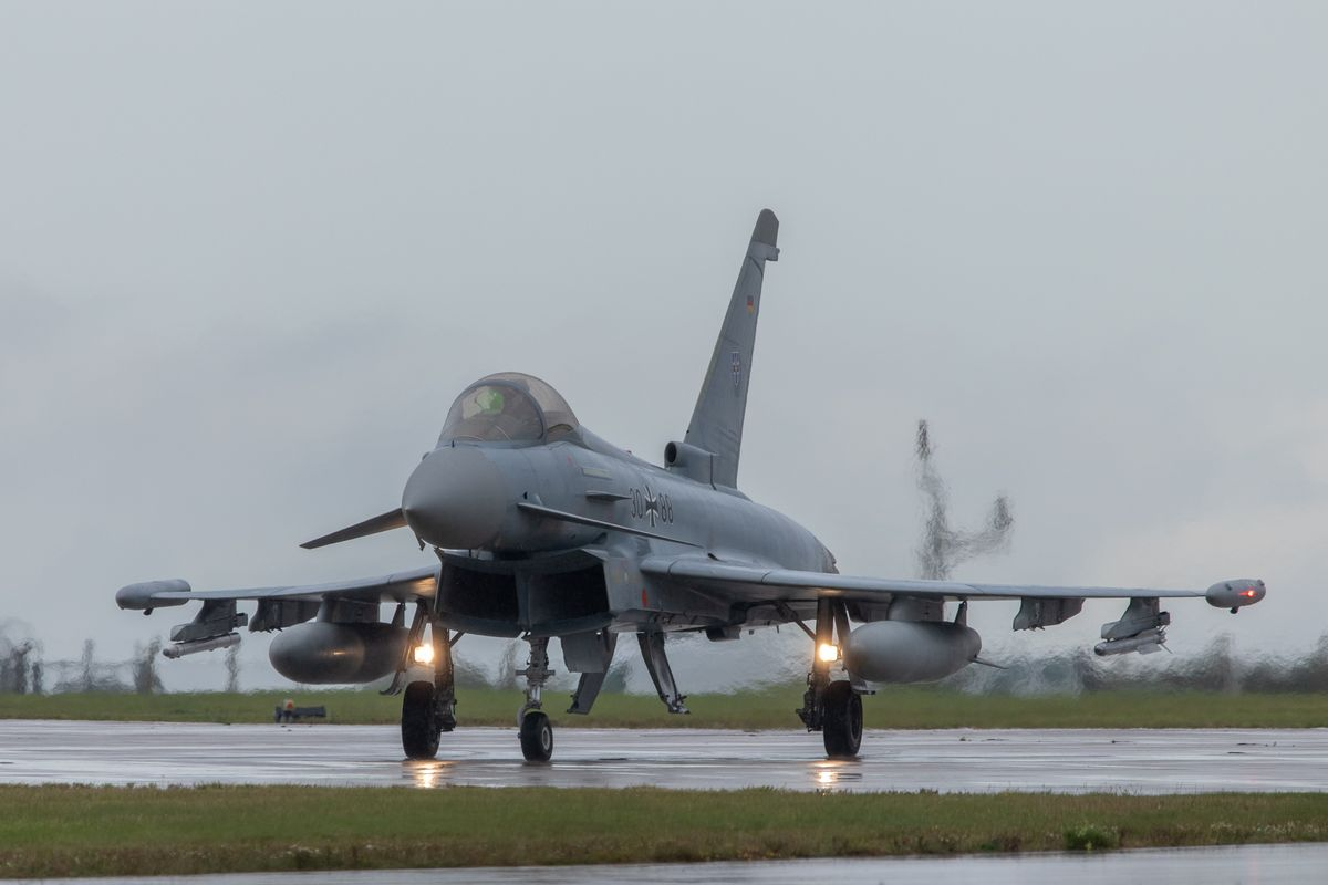 German Eurofighter by Clive Wells