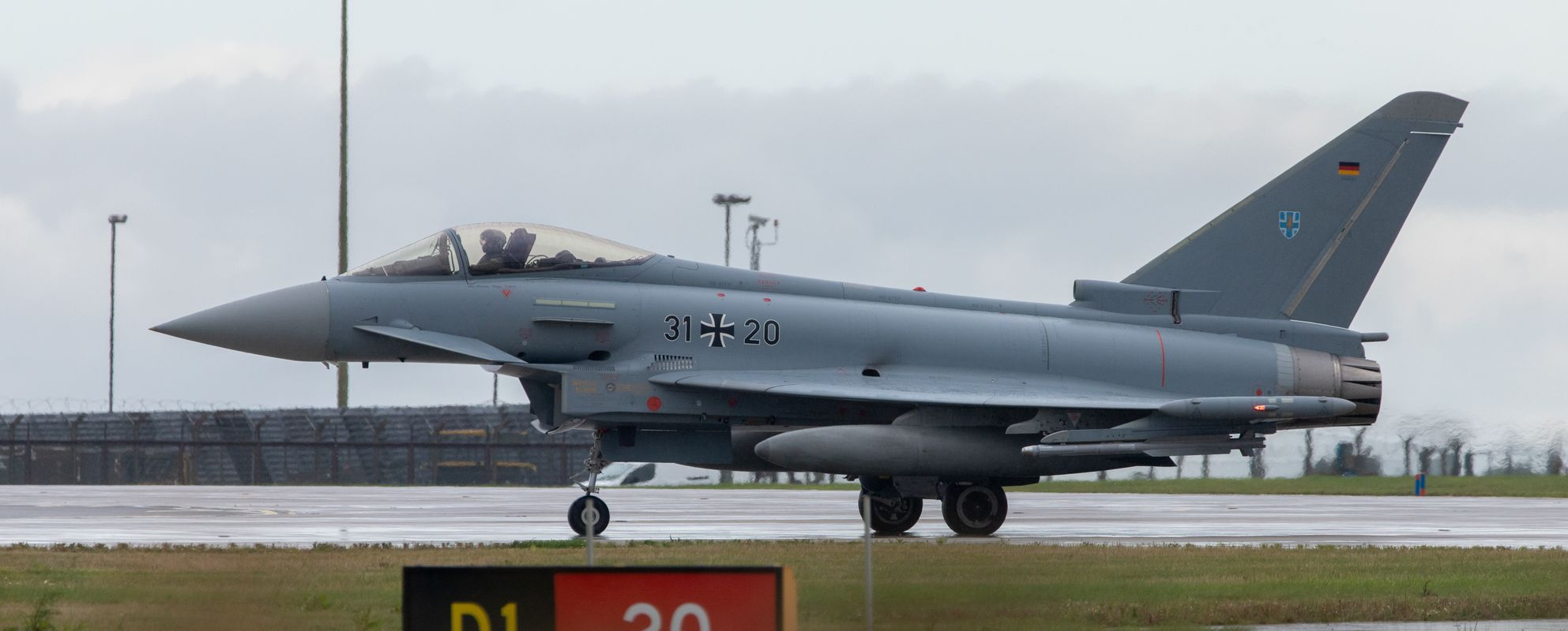 German Eurofighter (EF2000) by Clive Wells
