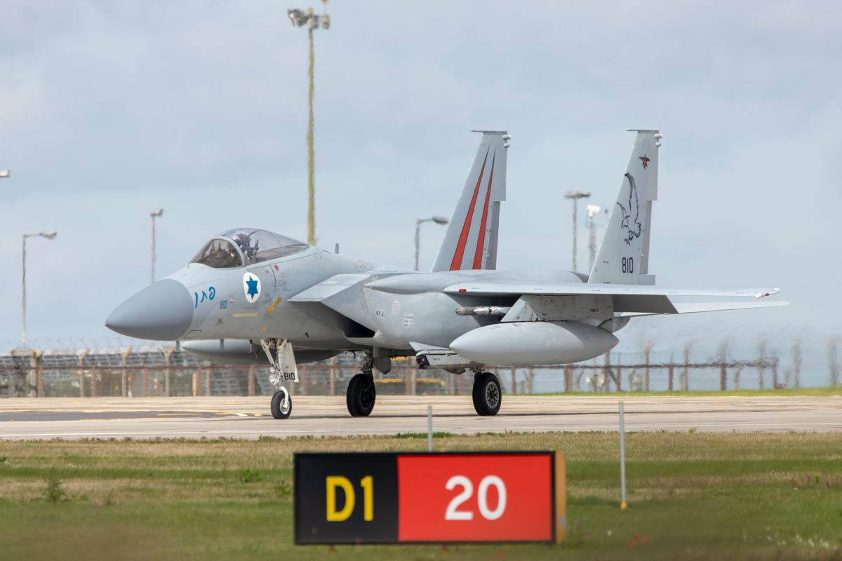 Isreali F-15I Eagle by Clive Wells
