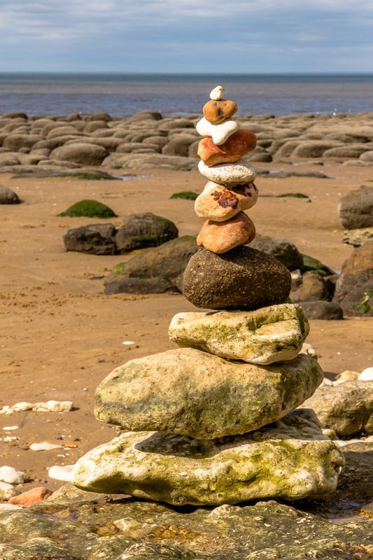 Pile of stones by clive Wells