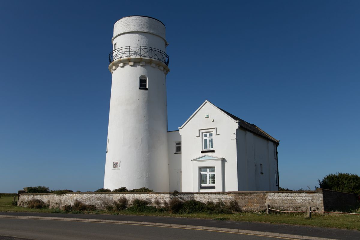 Lighthouse at Old Hunstanton by Clive Wells