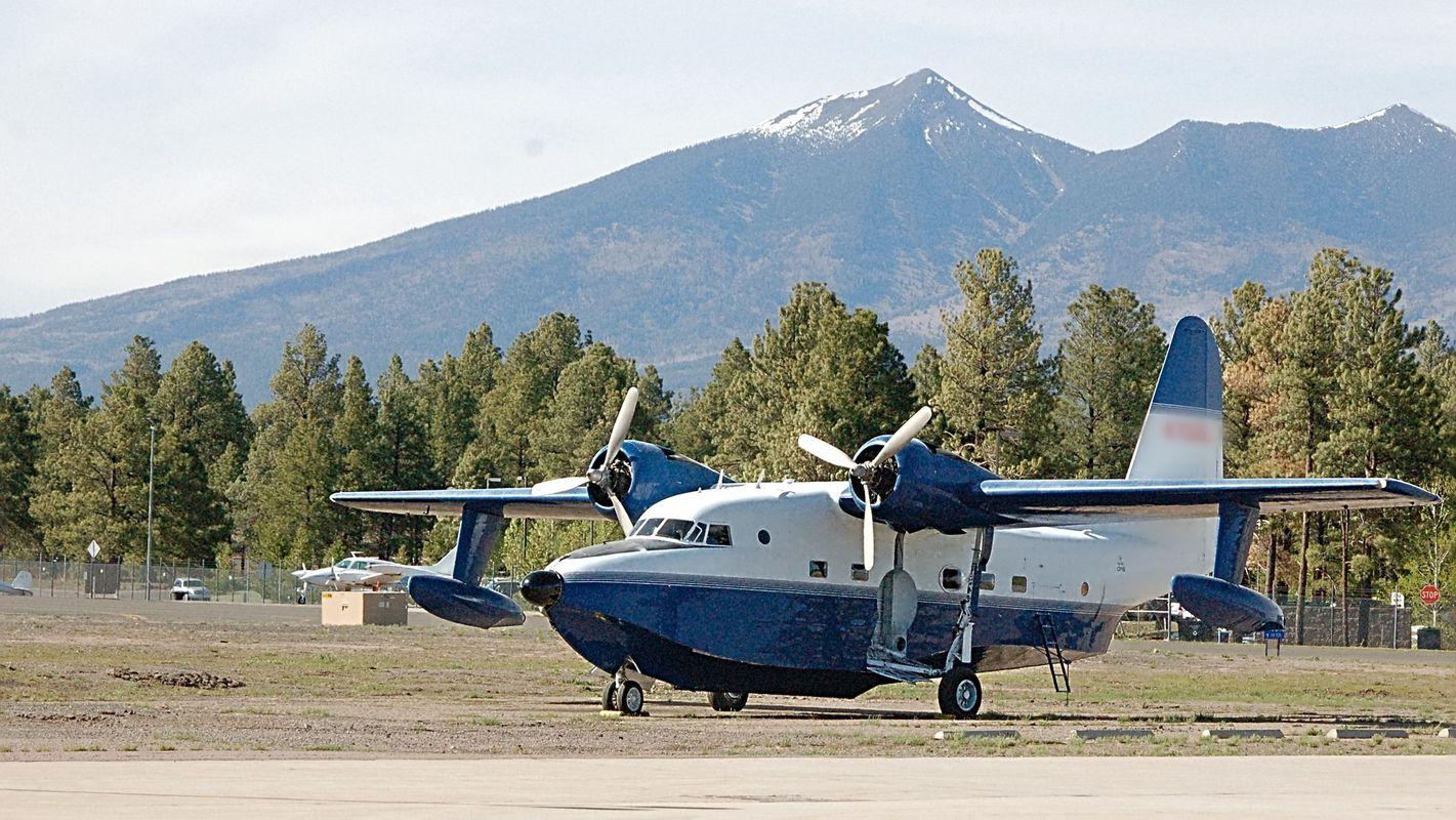 Flying boat at Pulliam Airport(FLG) Flagstaff, AZ / USA