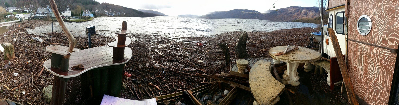 Loch ness flood