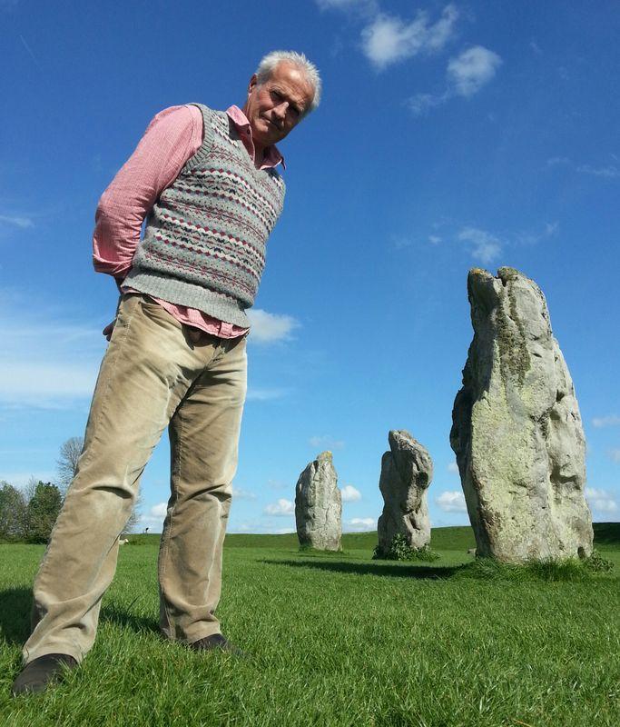 Steve feltham at Avebury
