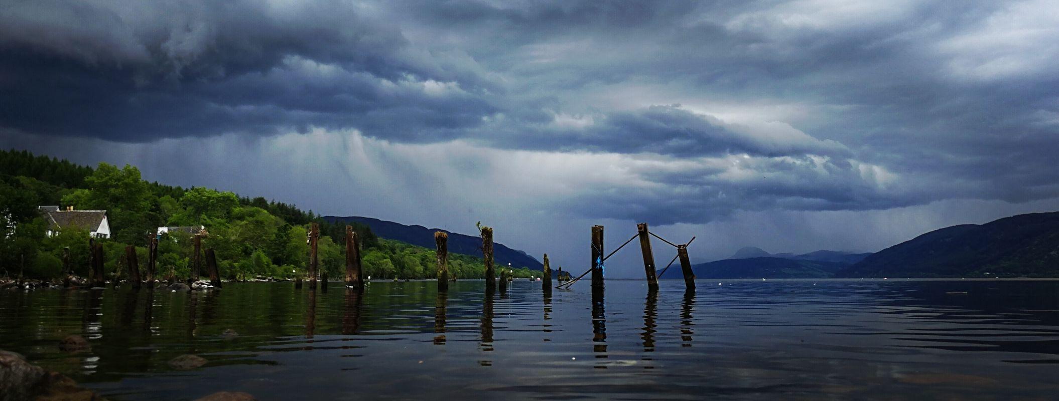 Storm over loch ness