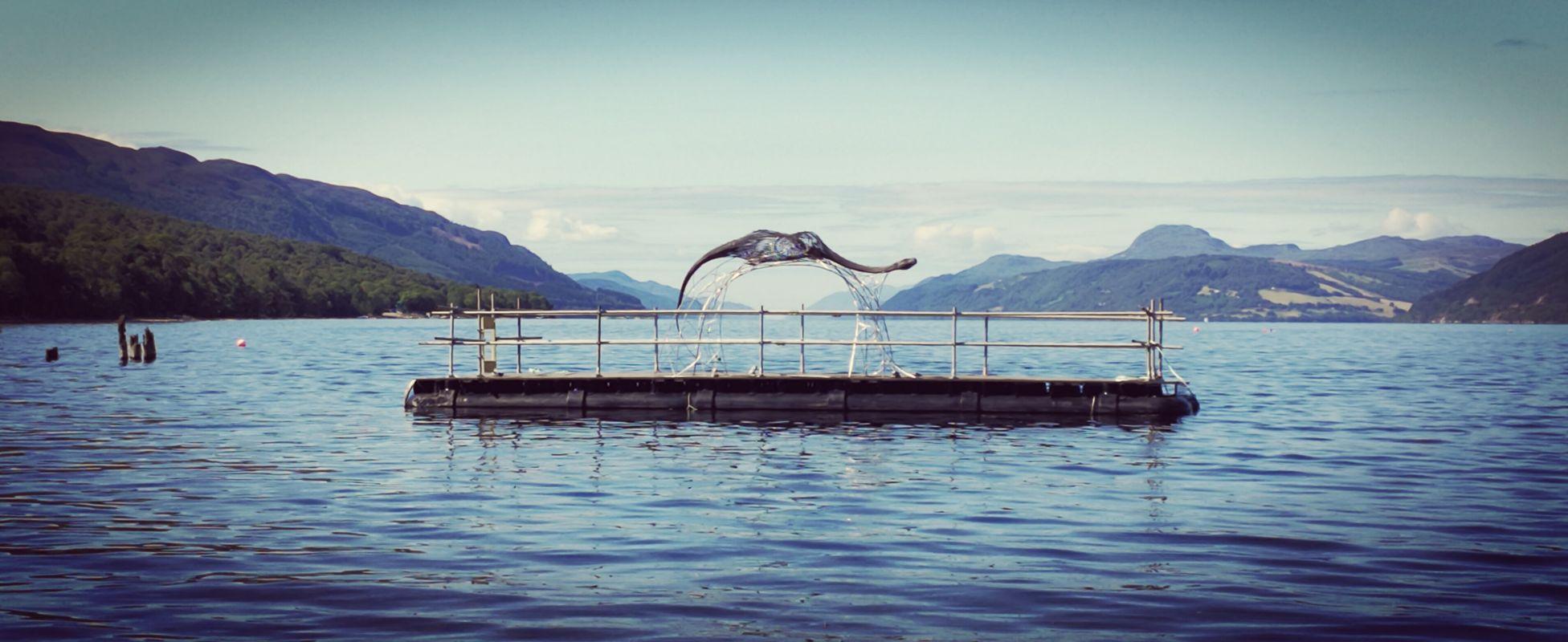 Wedding platform,Loch Ness