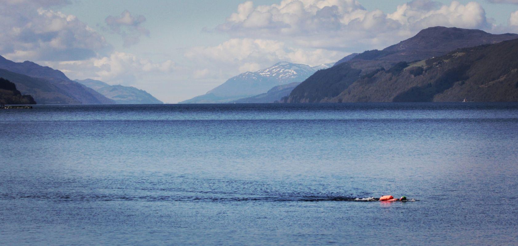 Wild swimming loch ness