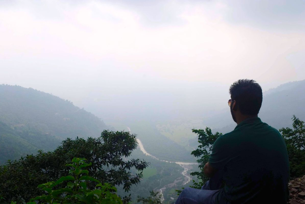 ALONE in peace... Just Enjoying the nature and the weather....