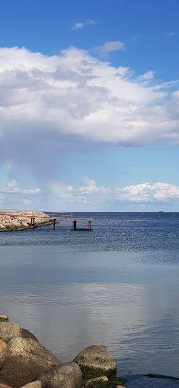 Rainbow over Bridge