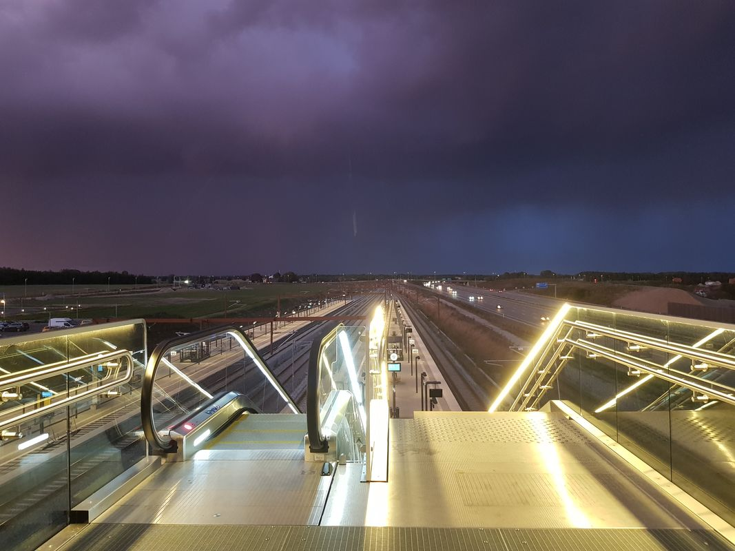 Stormy Clouds over Roller Stairs