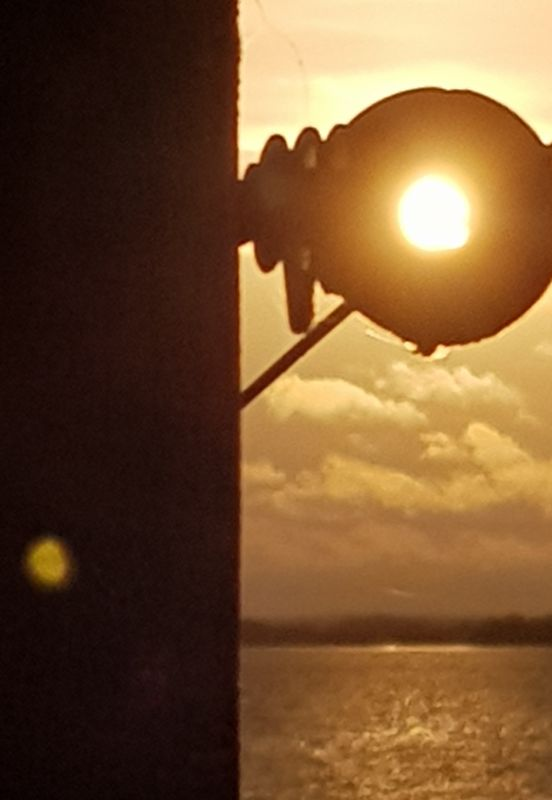 Sunlight Pole at Lake Arresoe