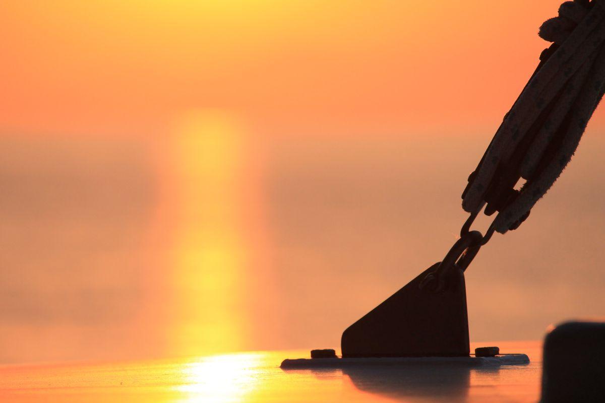 Sunrise on Board Northwind