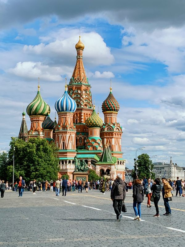 Russia Red Square St. Basil