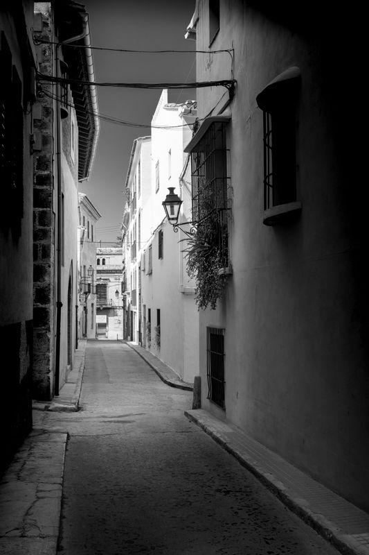 Old street in Spain