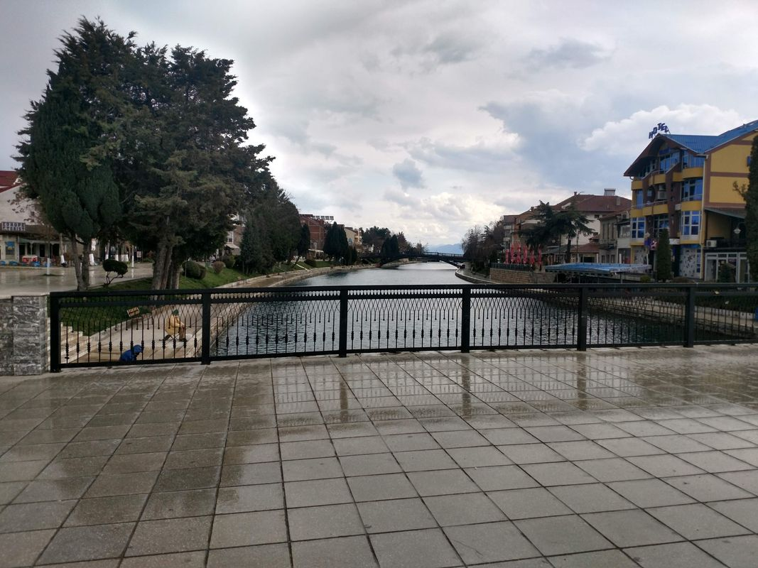 Struga in North Macedonia