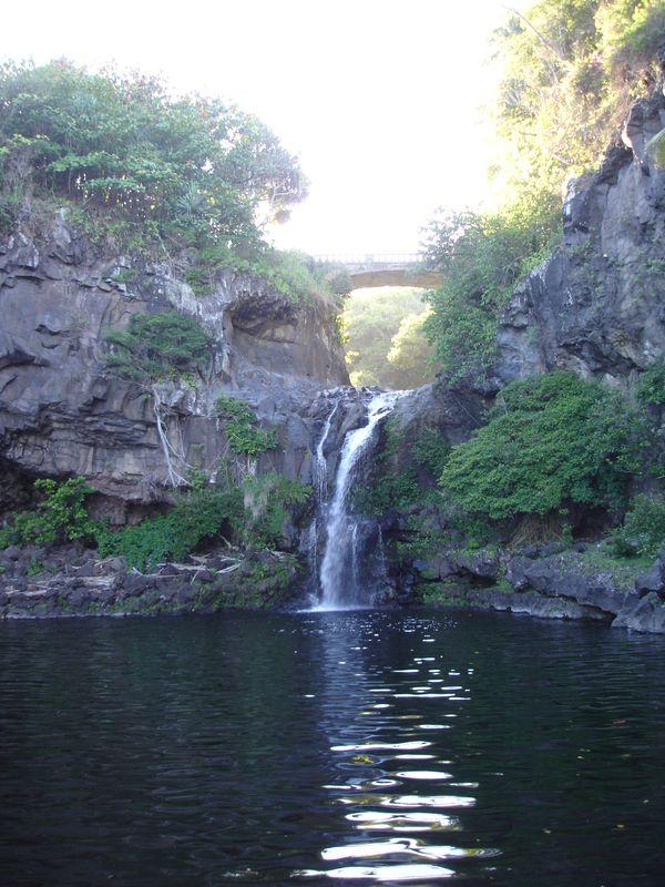Sacred Waterfall