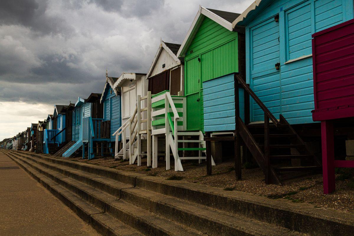Beach huts at Frinton on Sea         6075