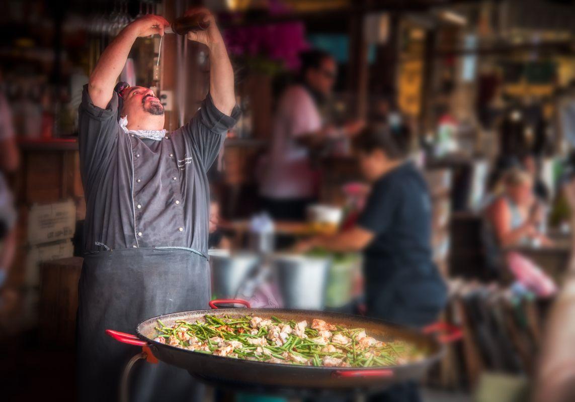 Paella Thai style