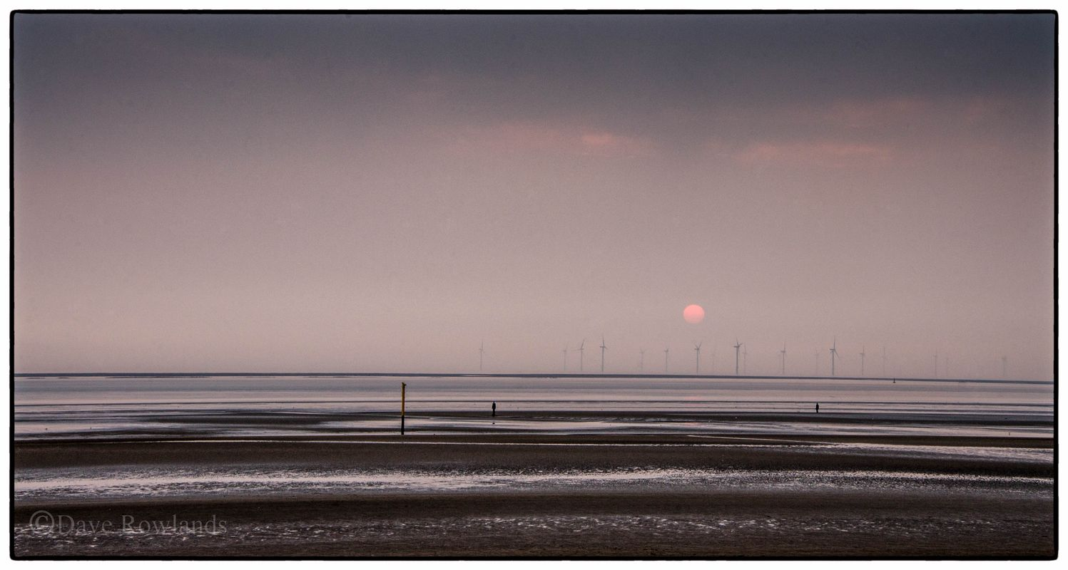 Sunset over Crosby