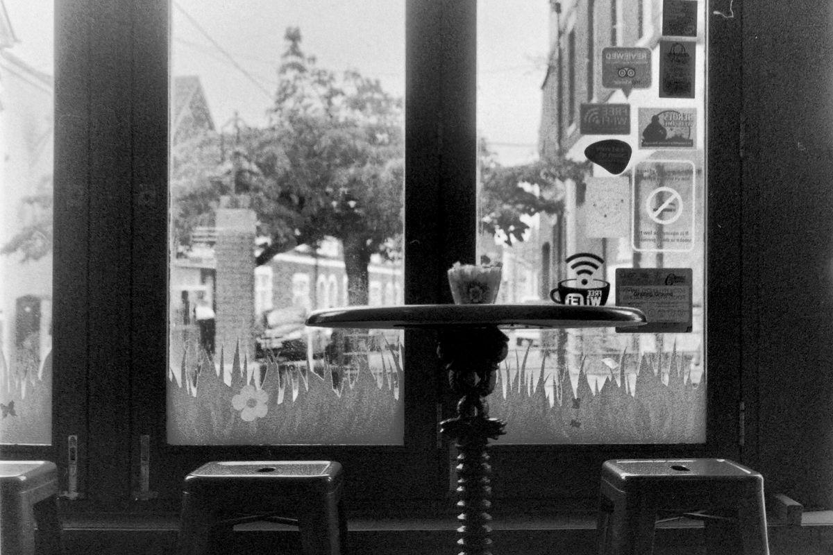 Coffee Shop Window