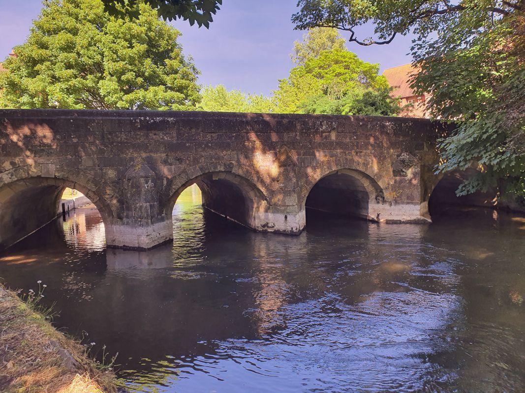River nada bridge