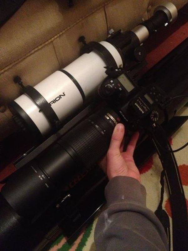 Mounting a Nikon Piggyback