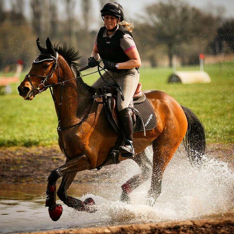 Gallopping through water