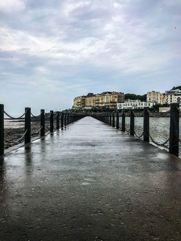 Birnbeck island and pier