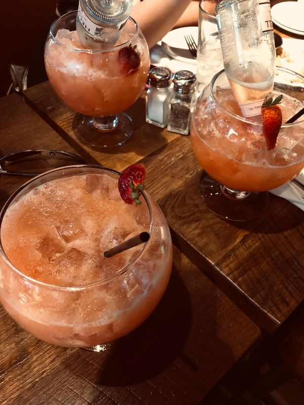 Fish Bowl Drinks