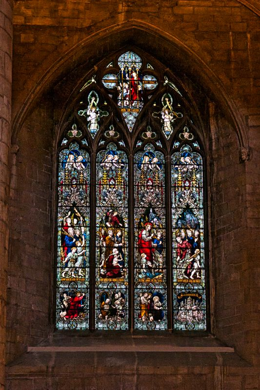 Tewkesbury Abbey - Stained Glass 2