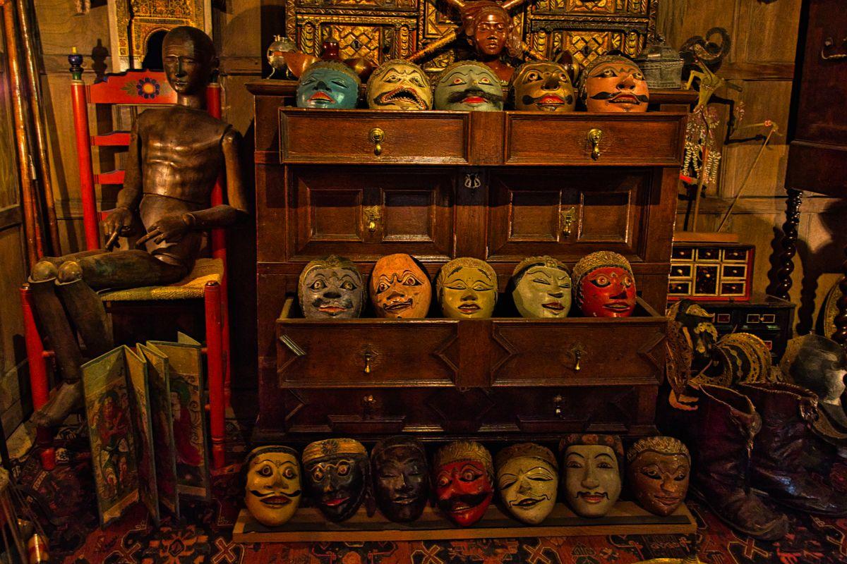 Snowshill Manor - Masks