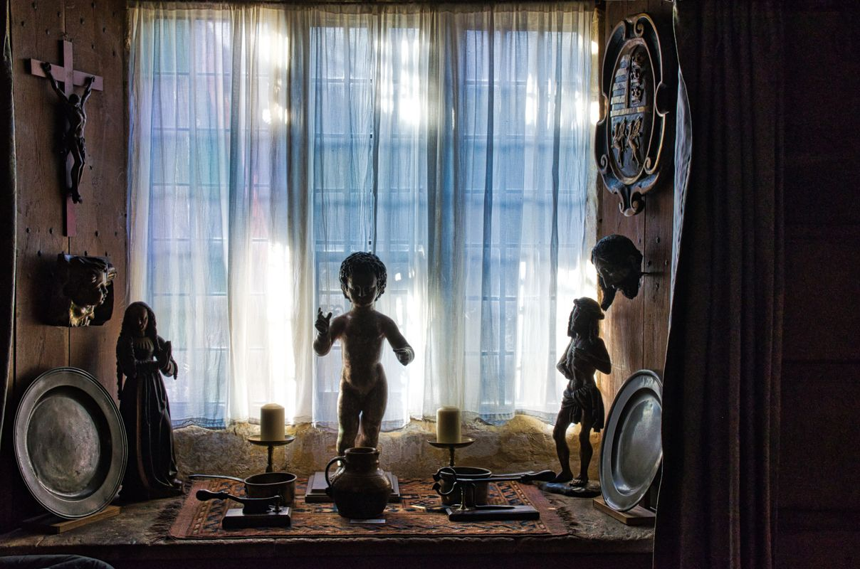 Spooky Figurines, Snowshill Manor