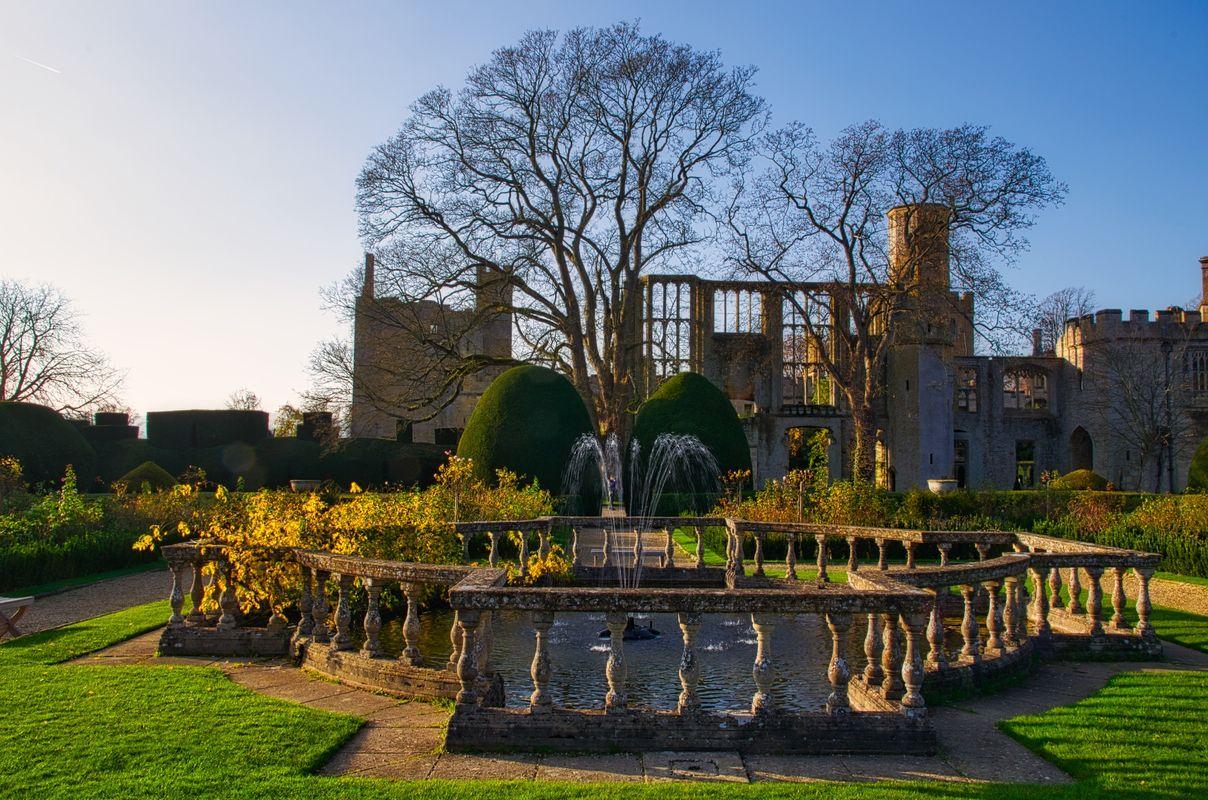 Garden Fountain at Sudeley Castle