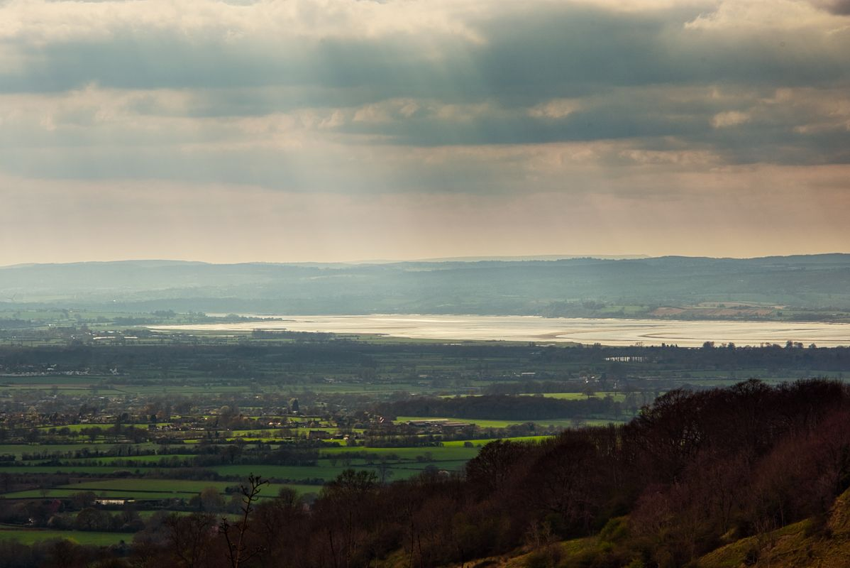 Severn Estuary From Standish Woods