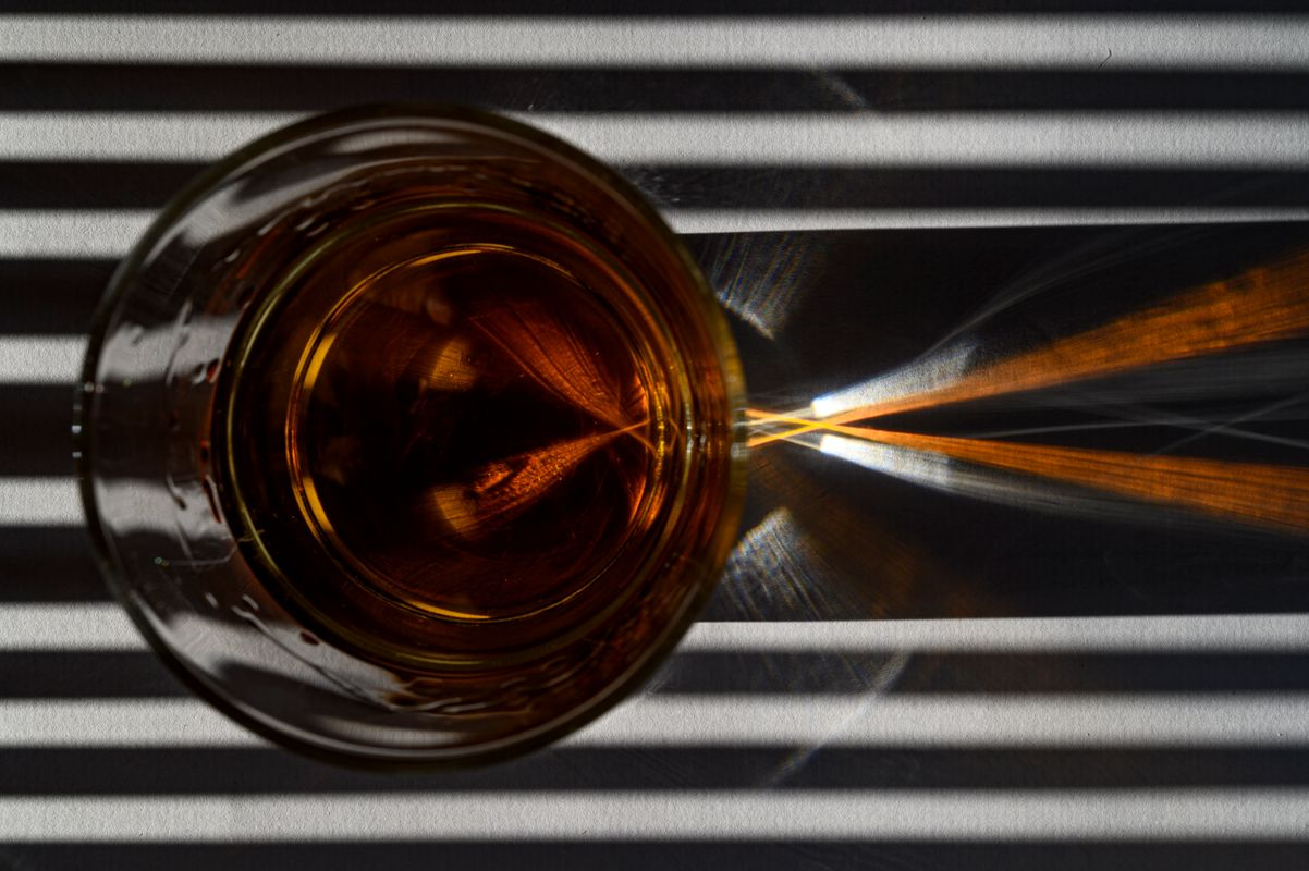 Whisky Abstract